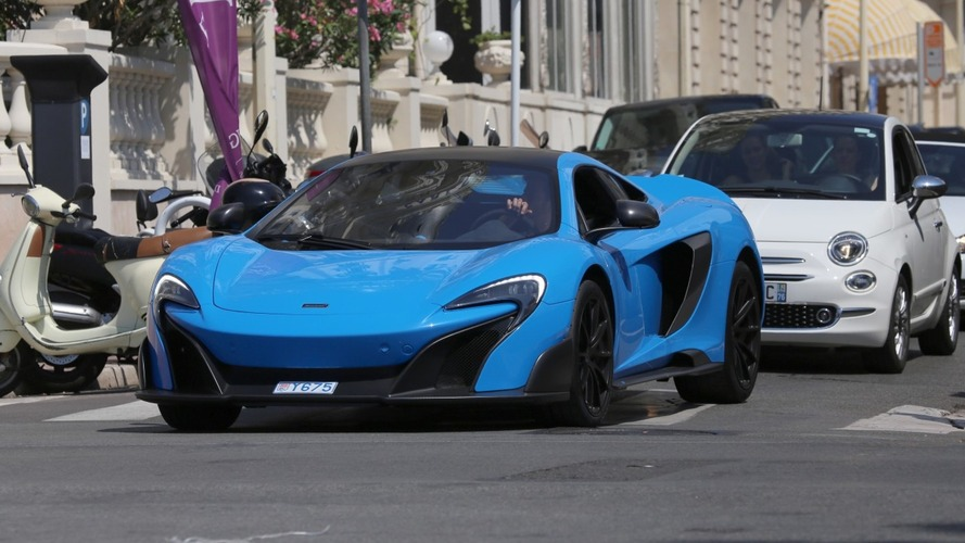 Daniel Ricciardo spotted in Monaco enjoying his McLaren 675 LT