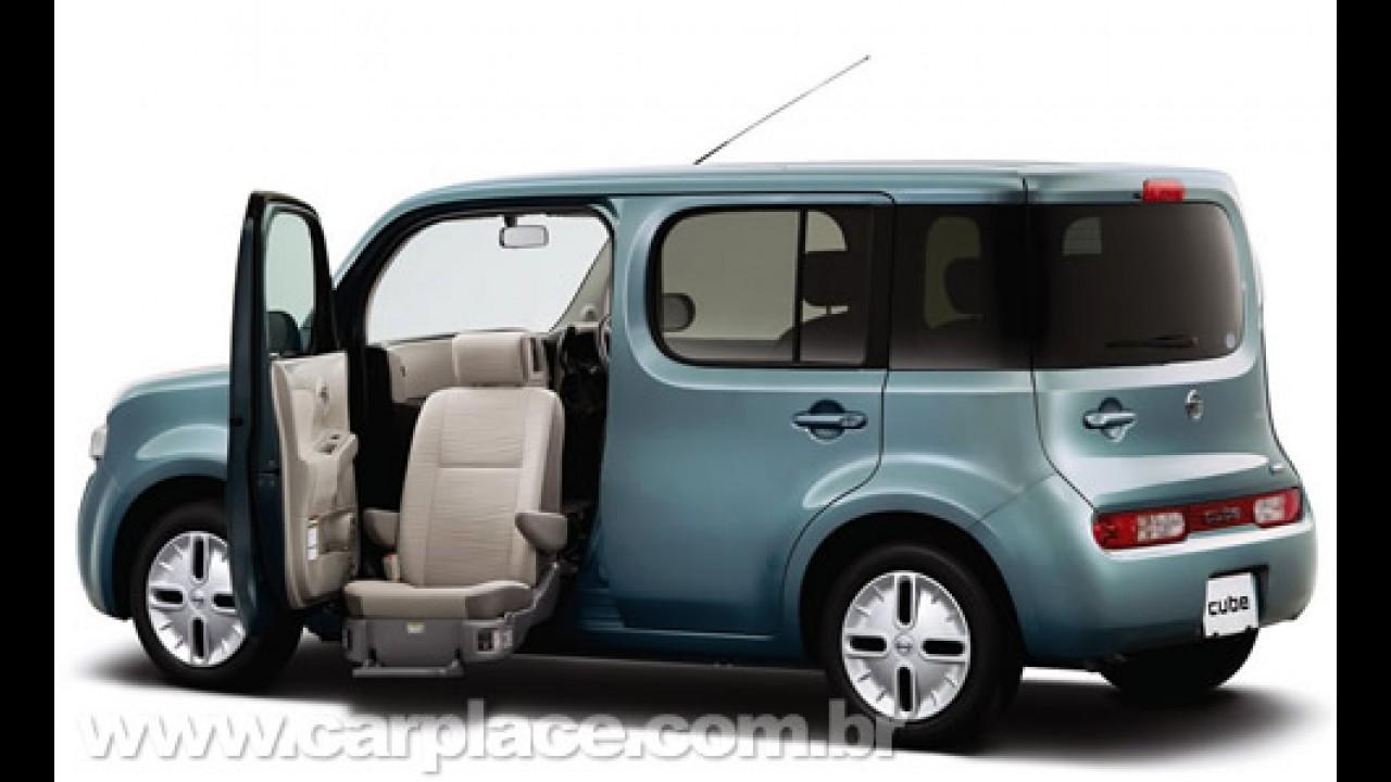 Terceira geração do compacto Nissan Cube é lançada no Salão de Los Angeles