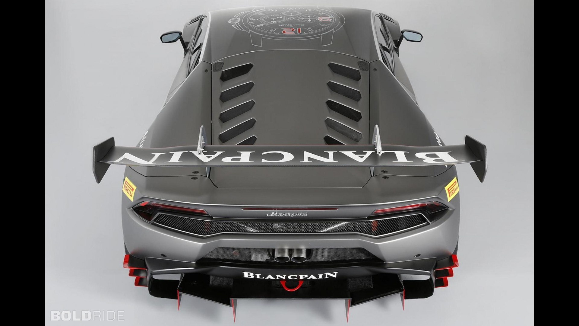 Гоночная версия Lamborghini Huracan Super Trofeo