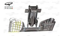 McLaren-Honda MP4-31 wing