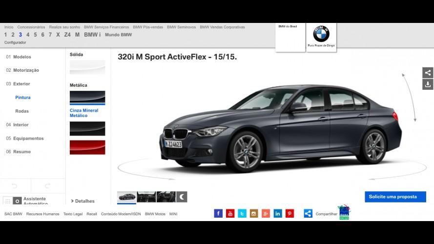 BMW e MINI agora têm sites com configurador online no Brasil