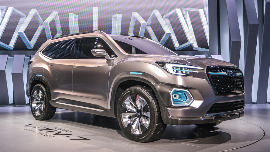 Subaru Viziv-7 konsepti, VW Atlas ile mücadeleye hazır