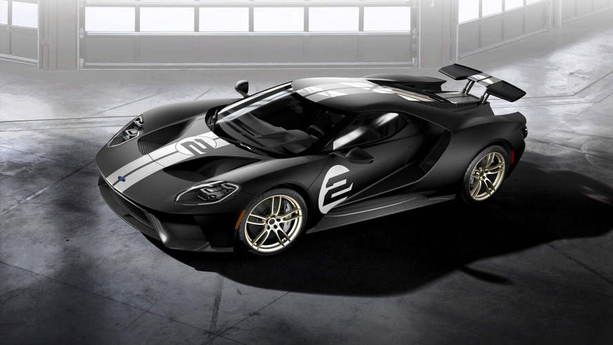 2017 Ford GT has 647 horsepower and does 216 mph