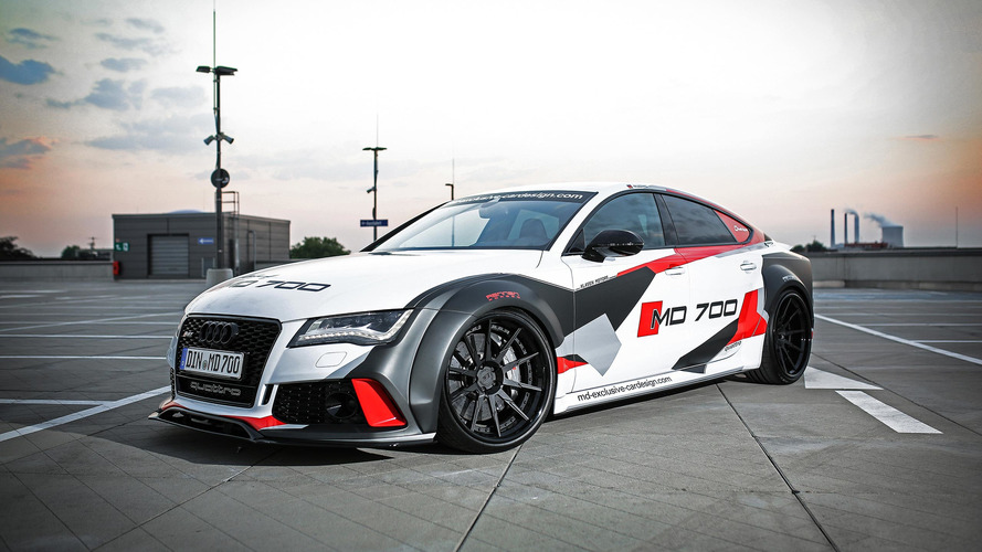 690 bg'lik Audi S7, RS7'yi utandıracak