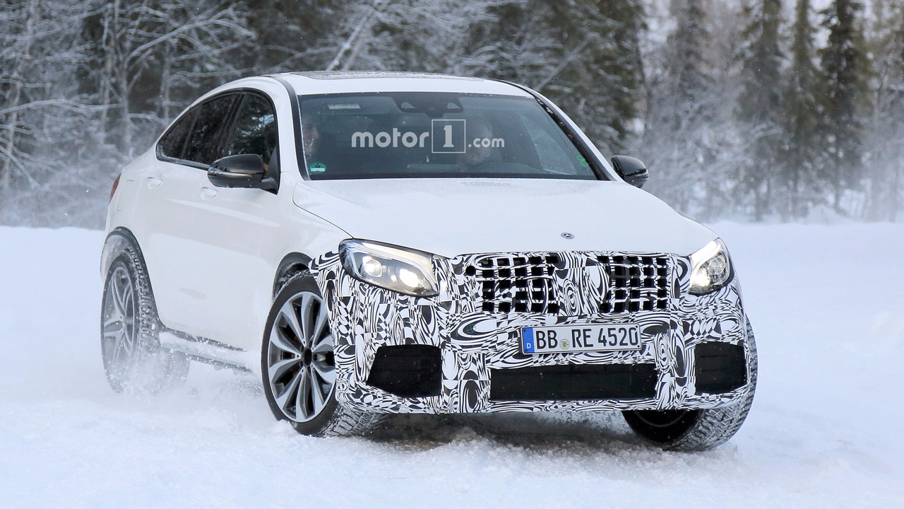 2018 Mercedes-AMG GLC 63 Coupe spy photo