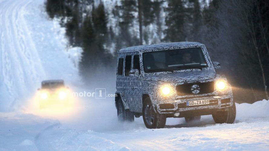 2018 Mercedes G Sınıfı ve G63 casus fotoğrafları