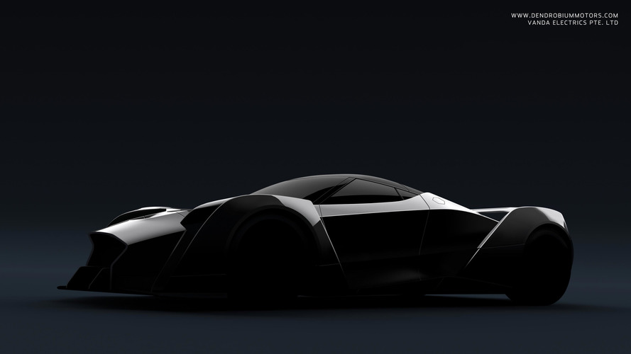 Futuristic hypercar from Singapore previewed ahead of Geneva debut