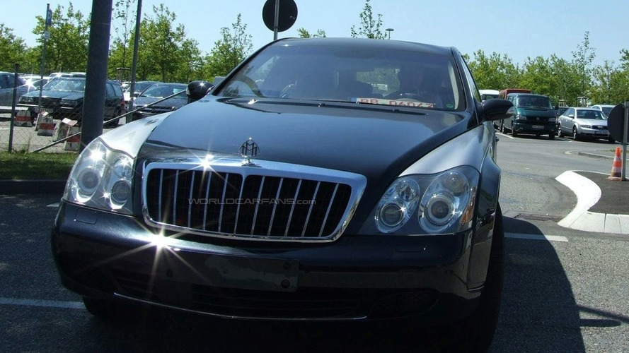 Maybach 62 Facelift Spied