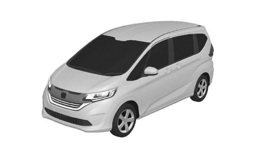 Honda Freed mini MPV leaked via Chinese patent bureau
