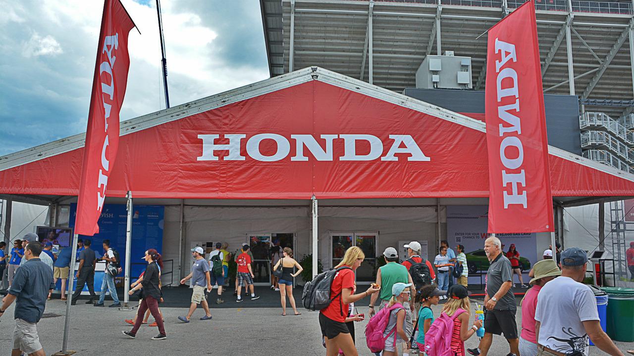 Honda World at 2016 Honda Indy Toronto
