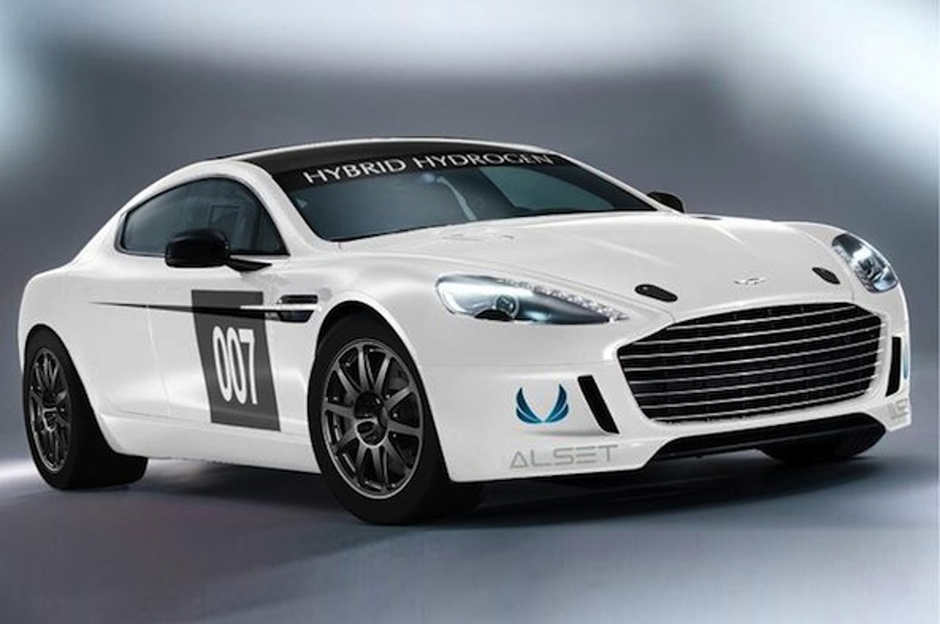 Aston Martin Racing and Alset Partner for Hydrogen-Fueled Rapide S