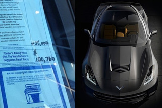 $100,000 For a New Corvette Stingray? One Dealer Thinks So