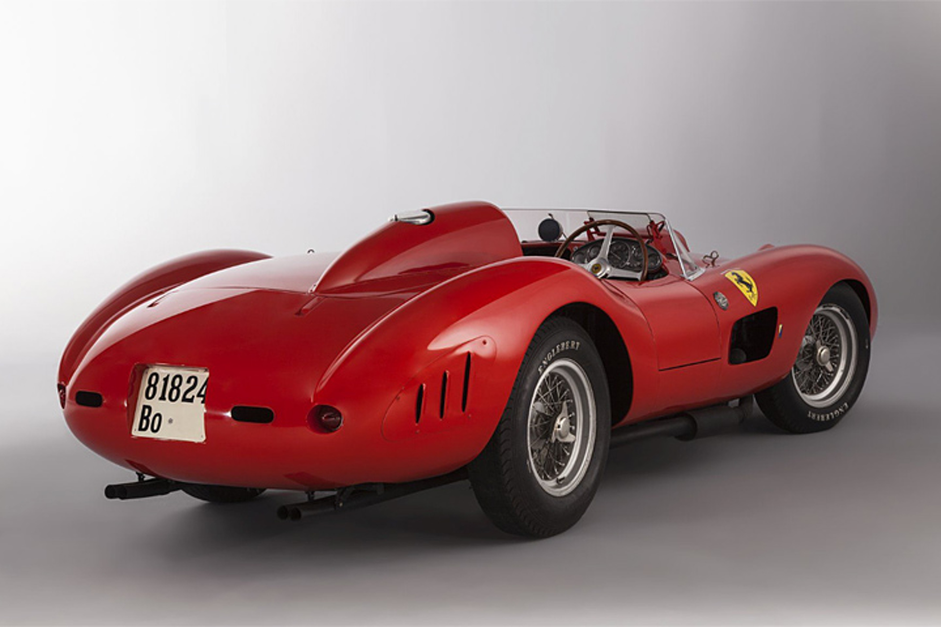 Ferrari 335 S Goes for $36.2 Million at Auction, Becomes World's Most Expensive Car