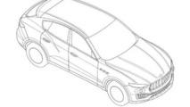 Maserati Levante revealed in patent images