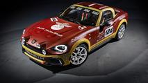 L'Abarth 124 Spider version rallye