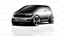 Motor1 Apple Car Rendu