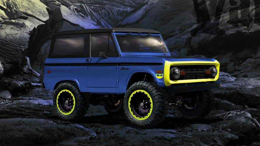 Biturbo WD-40-Themed Ford Bronco Could Slide Into Your Garage