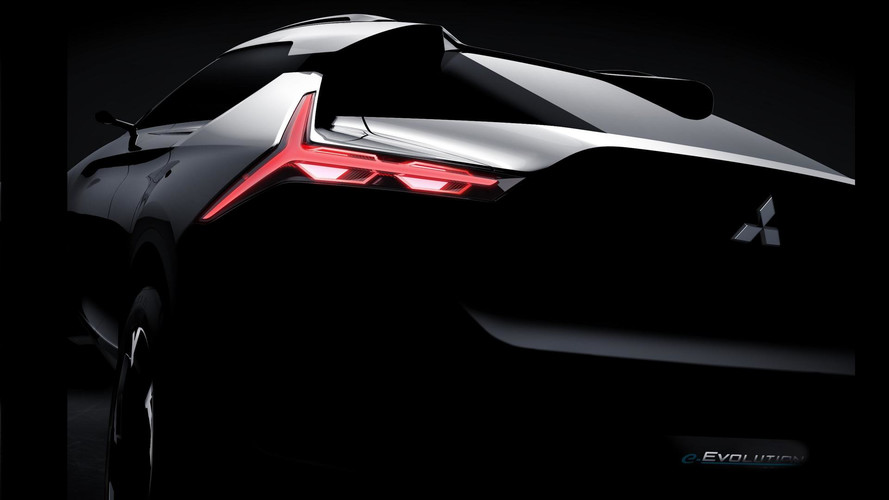 Mitsubishi e-Evolution Concept, teaser de un SUV de línea cupé