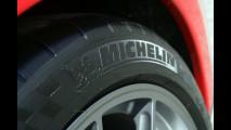 La Ferrari 599 GTO in pista con Michelin