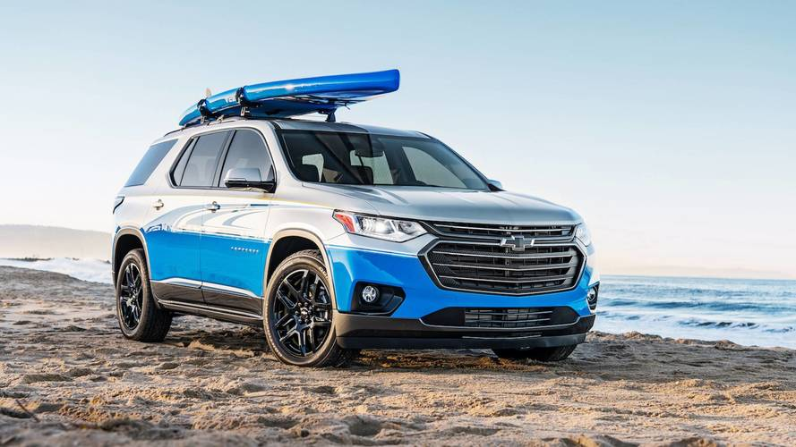 Chevrolet Traverse SUP Concept Is A Paddle Boarder's Dream