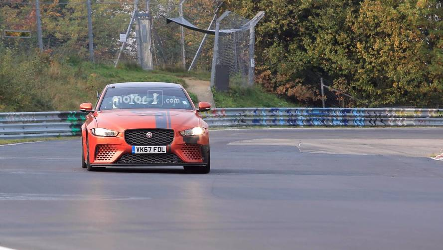 Jaguar XE SV Proejct 8 Nürburgring casus fotoğrafları
