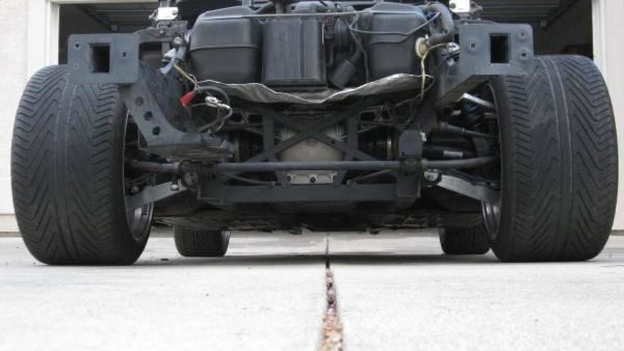 2003 Dodge Viper Convertible without body & airbags on sale for $14,900