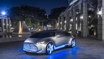 Le concept Mercedes-Benz Vision Tokyo plug-in hybrid