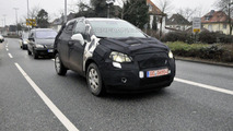 Opel Corsa based SUV first spy photos 09.02.2011