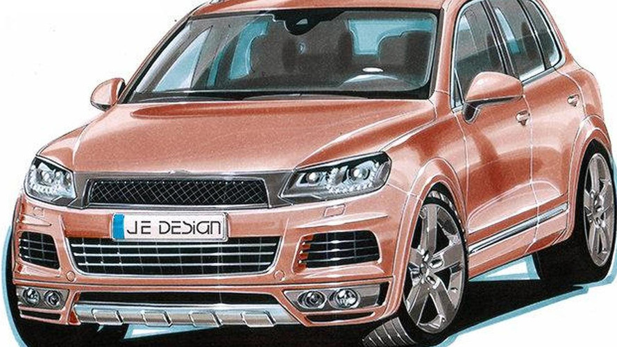 JE Design previews 2011 VW Touareg wide body conversion kit