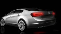 Kia VG Sedan Renderings Surface