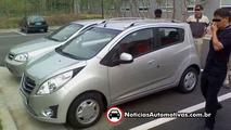 Daewoo Matiz aka Chevrolet Spark spy photos