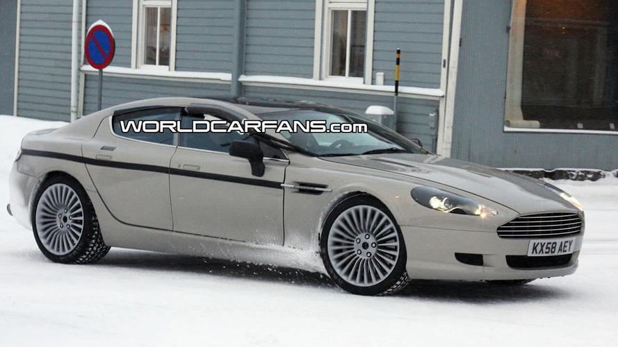 Beautiful Aston Martin Rapide Prototype Continues to Tease
