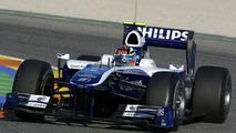 Nico Hulkenberg (GER), Williams FW32 testing, 03.02.2010, Valencia, Spain