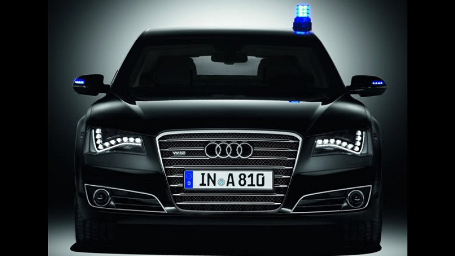 Audi A8 L Security: versão blindada de fábrica