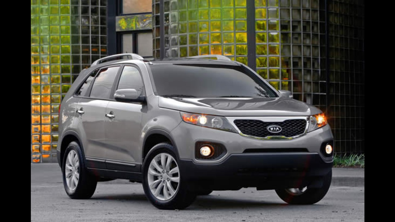 Kia Sorento V6 ganha kit multimídia com GPS integrado no Brasil - Preço é de R$ 130.900