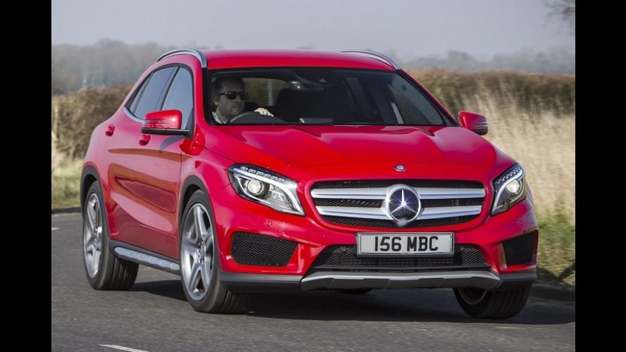 Mercedes-Benz considera GLA com carroceria cupê e visual esportivo
