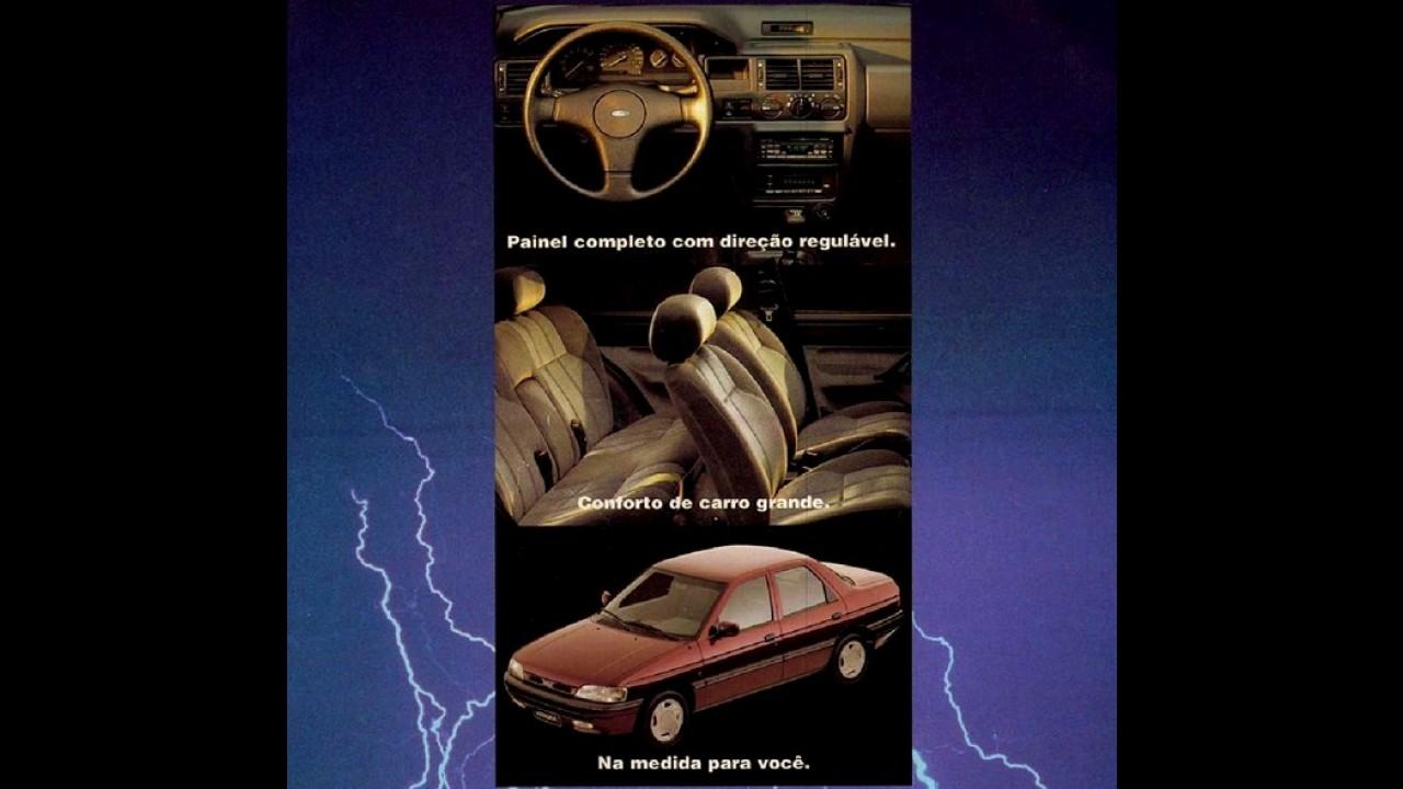 "Carros para sempre: Ford Verona ""inaugurou"" a Autolatina"