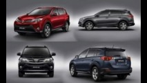 Novo Toyota RAV4: Vazam imagens da nova geração