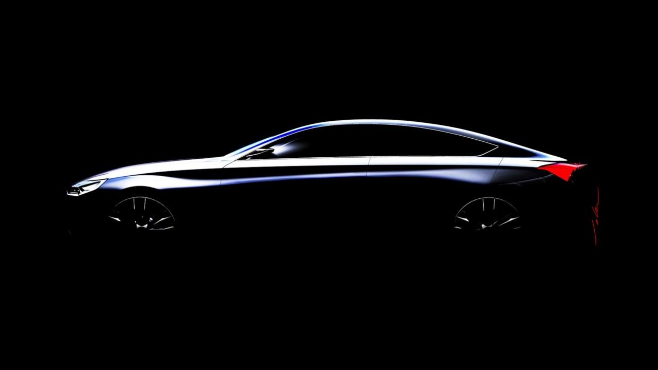 Hyundai divulga teaser do HCD-14 Concept, que pode antecipar nova geração do sedã Genesis