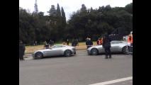 James Bond SPECTRE, le auto sul set a Roma