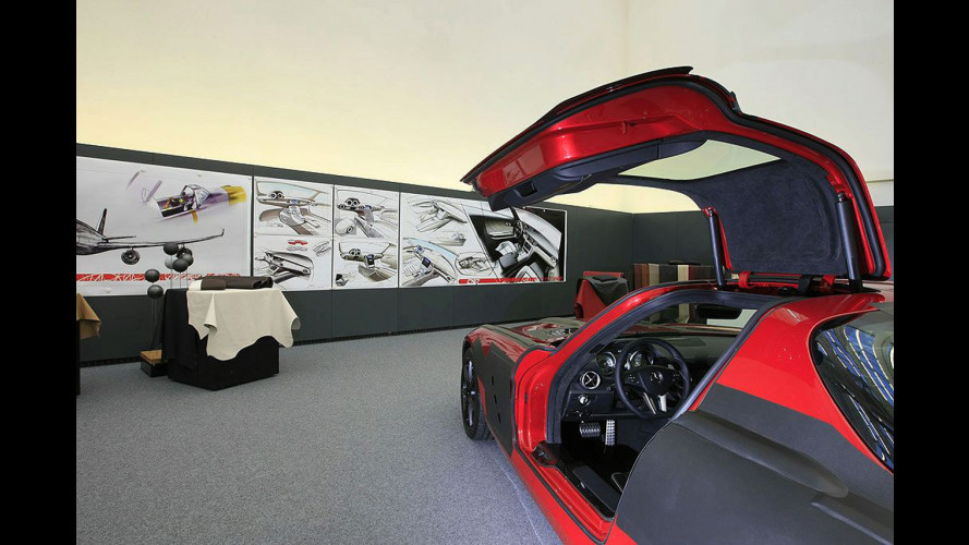 Mercedes SLS AMG: nuovi teaser