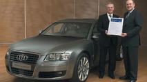 Audi A8 receives Allianz Research award