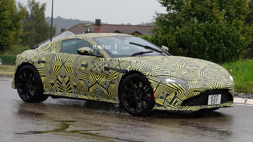Las fotos espía del Aston Martin Vantage 2018 que James Bond deseaba ver