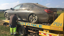 BMW M760Li Crash