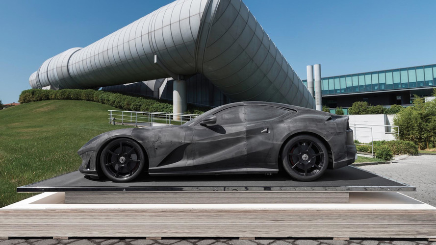 Ferrari 812 Superfast Wind Tunnel Model Could Be Worth $380K