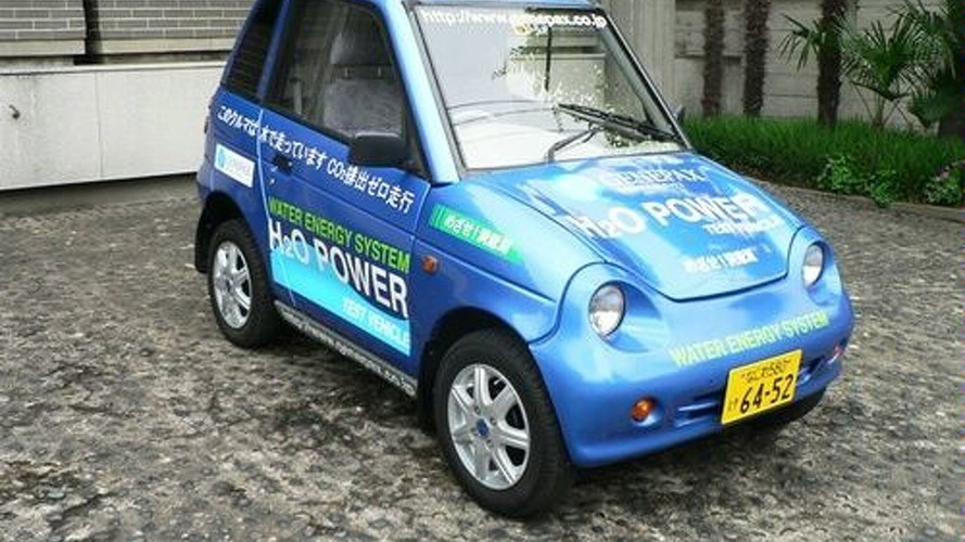 Japanese Company Creates Car That Can Run On Water