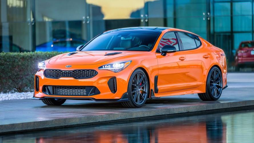 Las Vegas KIA Stinger GT presented in three versions