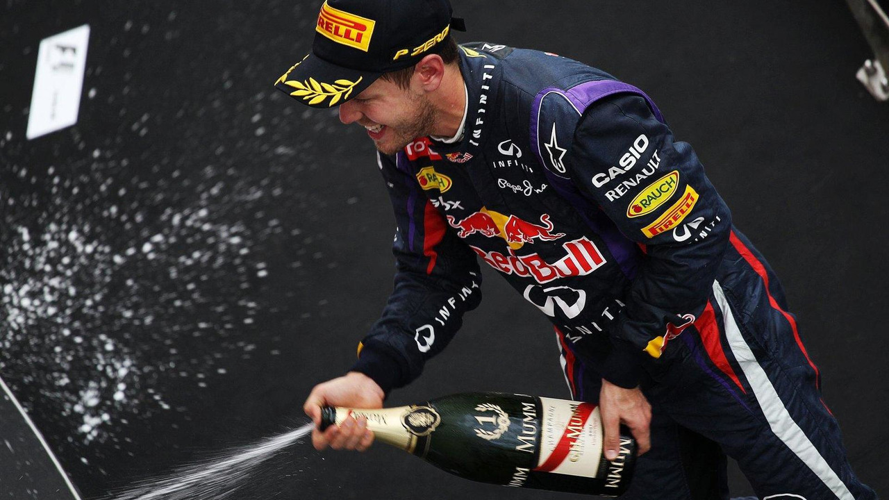 Sebastian Vettel 06.10.2013 Korean Grand Prix