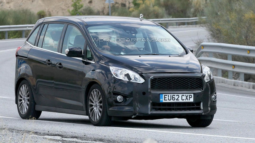 2015 Ford C-MAX facelift returns in new spy pics