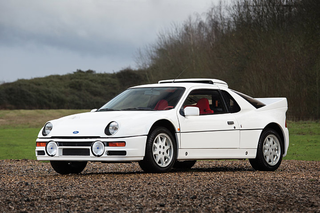 Super Rare 1-of-24 Ford RS200 Evolution Comes Up For Auction